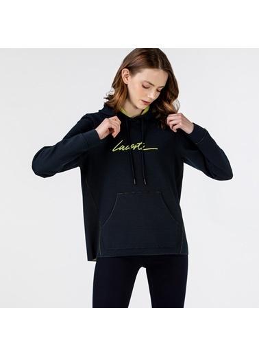 Lacoste Kadın Kapüşonlu Sweatshirt SF0112.12L Lacivert